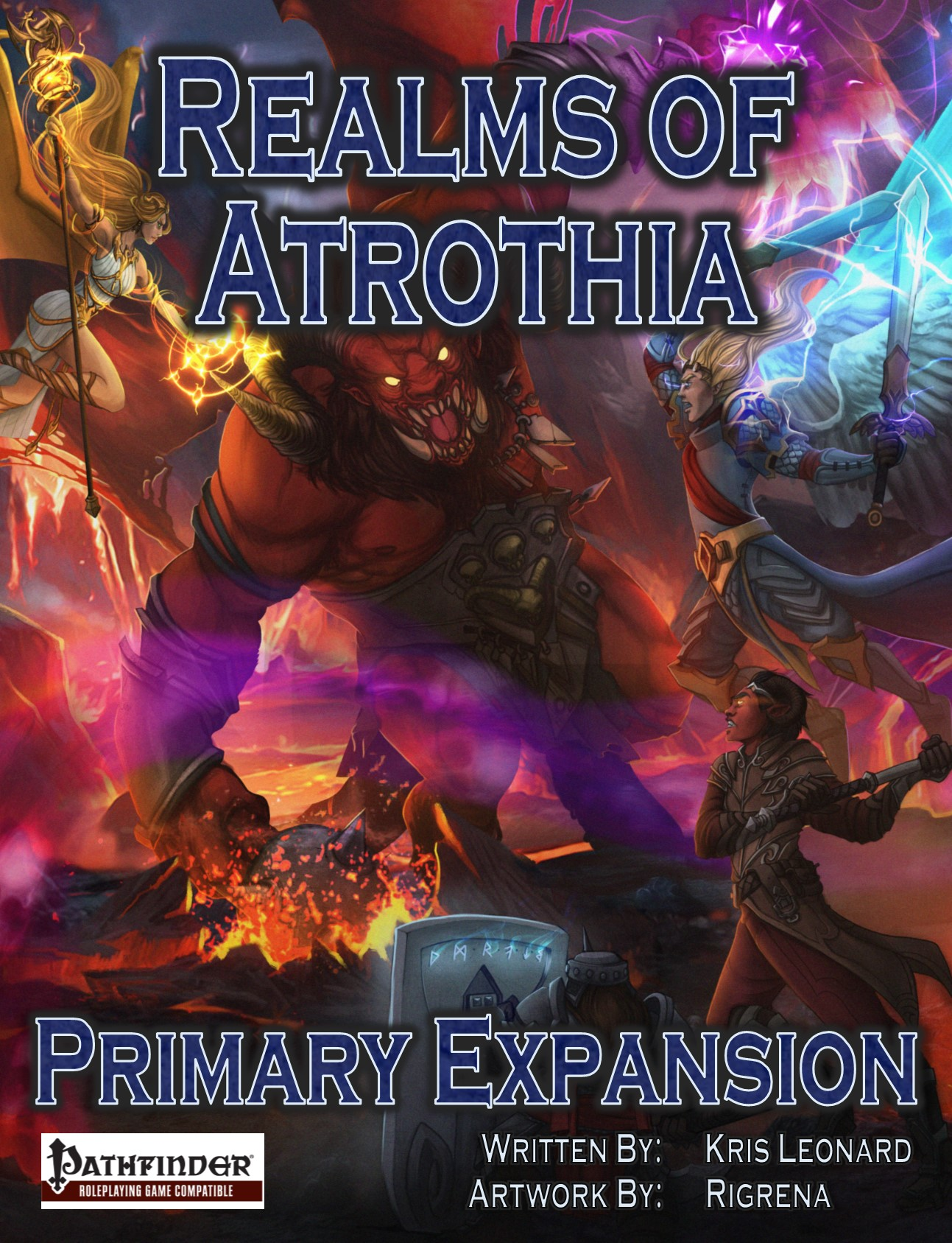 Realms of Atrothia - Primary Expansion (Cover)