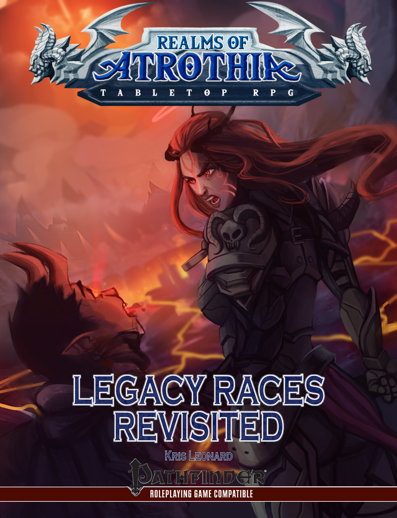 Realms of Atrothia - Legacy Races Revisited (Cover)